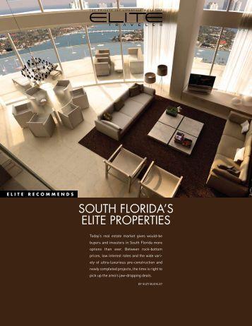 SOUTH FLORIDA'S ELITE PROPERTIES - Elite Traveler