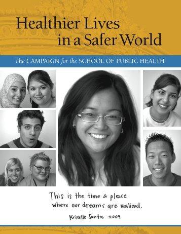 Healthier Lives - School of Public Health - University of California ...