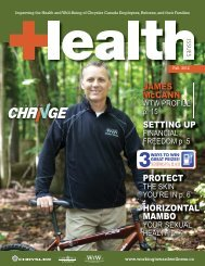 A Time For Change Magazine - Working Toward Wellness