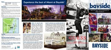 Experience the best of Miami at Bayside! - Bayside Marketplace