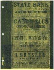 1926 City Directory - Poplar Bluff Public Library