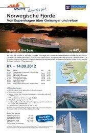 Vision of the Seas ab 449