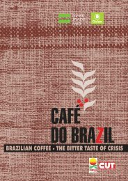BRAZILIAN COFFEE - THE BITTER TASTE OF CRISIS