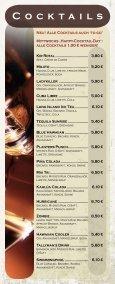 Speise - und Getränkekarte - Cafe 1685 - Seite 3