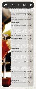 Speise - und Getränkekarte - Cafe 1685 - Seite 7