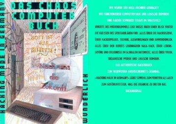 Das Chaos Computer Buch - Monoskop