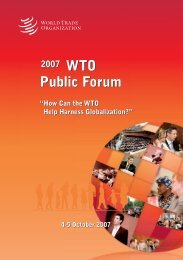 How Can the WTO Help Harness Globalization? - World Trade Organization