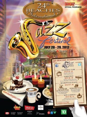saturday july 28 - Beaches International Jazz Festival