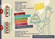 22 23 September / Medi 2012 - Narberth Food Festival 2008