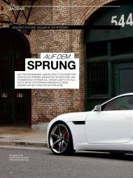Auf dem Sprung, Jaguar C-X16 und Jaguar