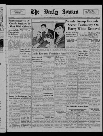 sports - The Daily Iowan Historic Newspapers - University of Iowa