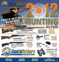 Hunting Flyer - Coastal Outdoors