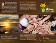 Download our brochure! - Alive Adventures and Discovery Camp