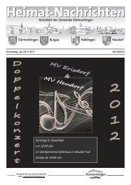 Einladung zum Adventsmarkt Freitag, 30.November 2012 von 16.00