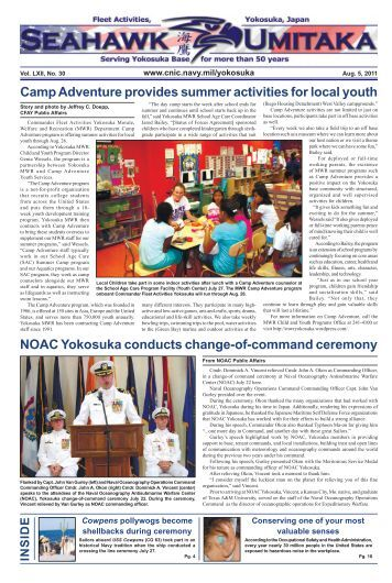 Camp Adventure provides summer activities for ... - CNIC.Navy.mil