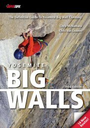 The Definitive Guide To Yosemite Big Wall Climbing - SuperTopo
