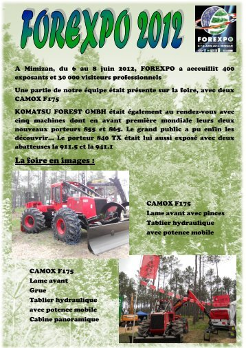 forexpo 2012 - Camox