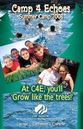 Camp 4 Echoes - Girl Scouts Eastern Washington & Northern Idaho
