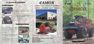 Brochure Camox : Français