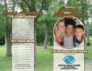 Camp Adventure - Boys and Girls Club of Southern Rensselaer ...