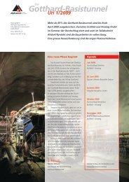 Infoblatt Uri 01/2009 - beim TCS Sektion Schwyz