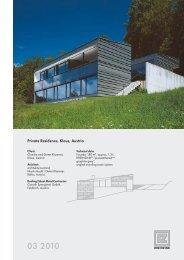 Private Residence, Klaus, Austria