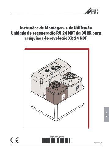 Instruções de Montagem e de Utilização Unidade de ... - duerr-ndt.de