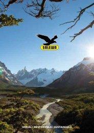 social | responsible | sustainable - Salewa