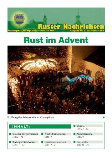 Ruster Nachrichten - Dezember 2009/3