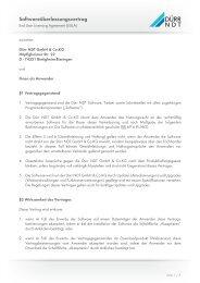Softwareüberlassungsvertrag (EULA) Deutsch - duerr-ndt.de