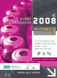 EVENT CATALOGUE 2008 - UBM India