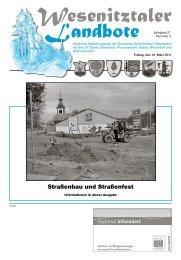 Ausgabe März 2011 (PDF) - Gemeinde Dürrröhrsdorf-Dittersbach
