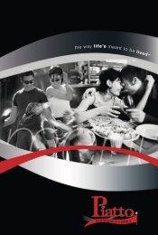 Piatto Menu - Eat Out