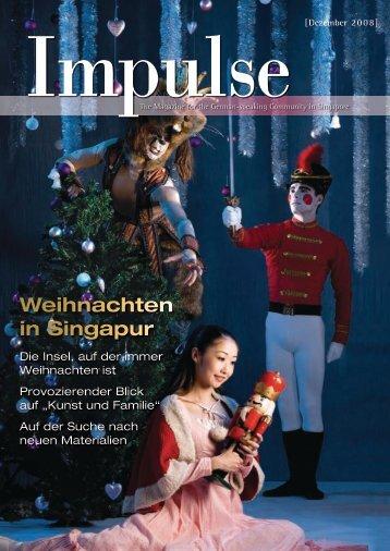Weihnachten in Singapur - Impulse Singapur
