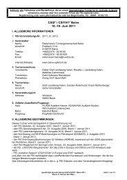 CSI2* / CSIYH1* Balve 16.-19. Juni 2011 - Balve Optimum