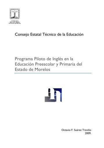 Programa de Inglés en la educación preescolar ... - CETE MORELOS