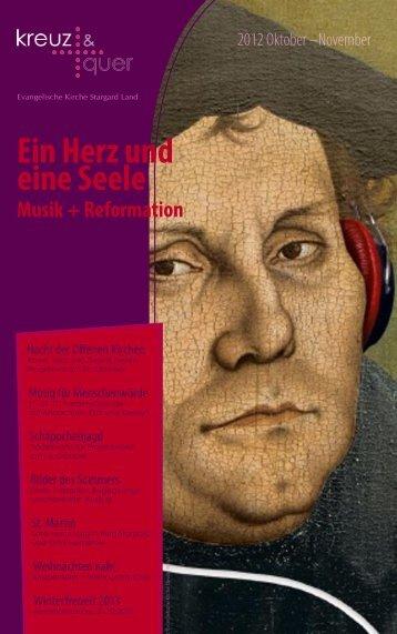 kreuz+quer 2012/3 - Evangelische Kirche Stargard Land