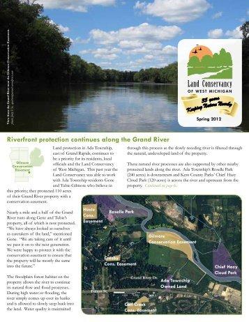 Spring 2012 Newsletter - Land Conservancy of West Michigan
