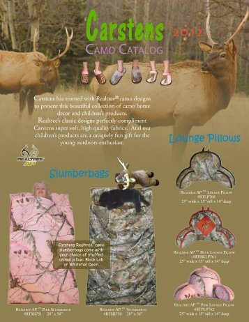 CAMO CATALOG - Carstens Inc