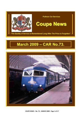 Coupe News - Southern Email Group