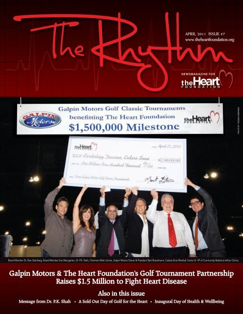 Galpin Motors & The Heart Foundation's Golf Tournament