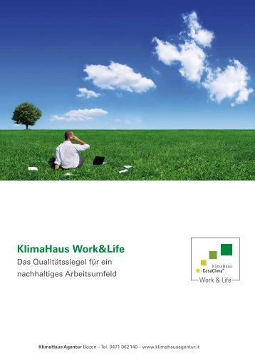 KlimaHaus Work&Life - Salewa