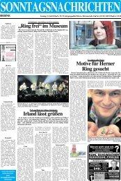 10 10 10 - Sonntagsnachrichten