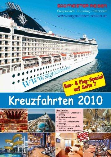 25. Juli 2010 - Sagmeister Reisen