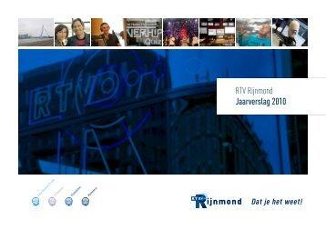RTV Rijnmond Jaarverslag 2010 - Roos