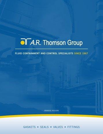 Prairie Region Line Card - AR Thomson Group