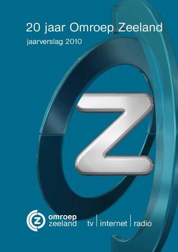Jaarverslag Omroep Zeeland - Roos