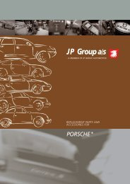 Engine Oil hoses, pipes and lines, 1972 - JP Group A/S
