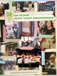 SJA 10 jaar KAPOT GOED* JONGERENWERK - Door van der Wiele