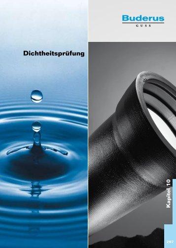 Katalog Abwasser - Kapitel 10 - Duktus